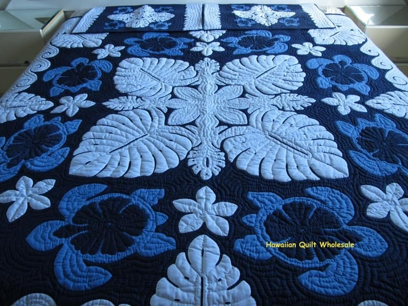 Elegant hawaiian quilt wholesale hawaiian quilt patterns hawaiian 10   Hawaiian Sea Turtle Quilt Patterns