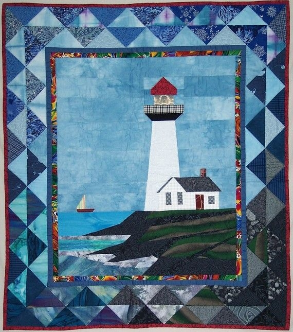 Permalink to 9 Cool Lighthouse Quilt Patterns Gallery