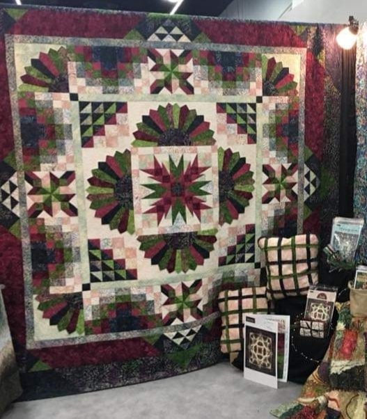 Elegant lush quilt kit with pattern 108 x 108 8543300056596 11 Unique Quilting Kits And Patterns Inspirations