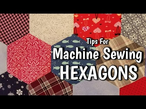 Elegant machine sewing hexagons tips that make it easy lisa capen quilts 11 Modern Tips On Sewing Hexagon Quilts Gallery