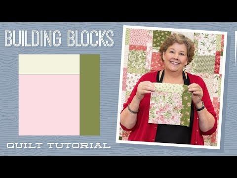 Elegant make a building blocks quilt with jenny doan of missouri 10 Unique Building Block Quilt Pattern Inspirations