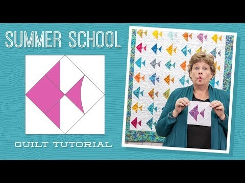 Elegant make a summer school quilt with jenny youtube 11 Unique Fish Quilt Block Pattern