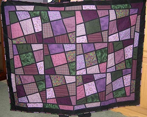 Elegant my purple magic tiles quilting gallery 9 Stylish Magic Tiles Quilt Pattern