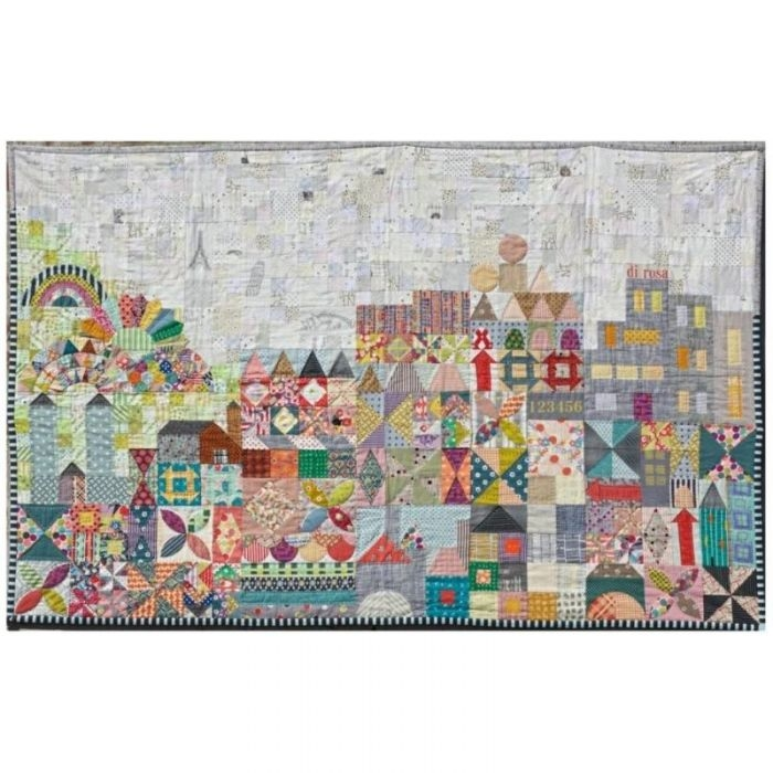 Elegant my small world quilt kit 11 Unique Quilting Kits And Patterns Inspirations