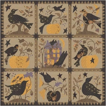 Elegant new button club new blackbird designs new desklamps 9 Elegant Blackbird Designs Quilt Patterns