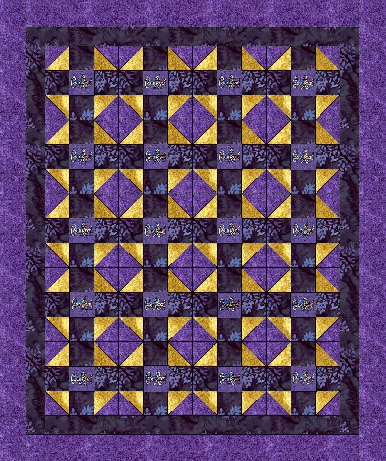 Permalink to 10 Elegant Crown Royal Quilt Pattern Inspirations