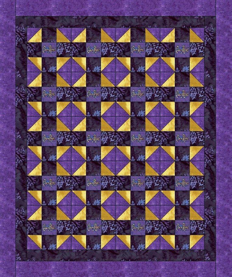 Elegant pin consuela teague on crown royal quilt crown royal 10 Elegant Crown Royal Quilt Pattern Inspirations