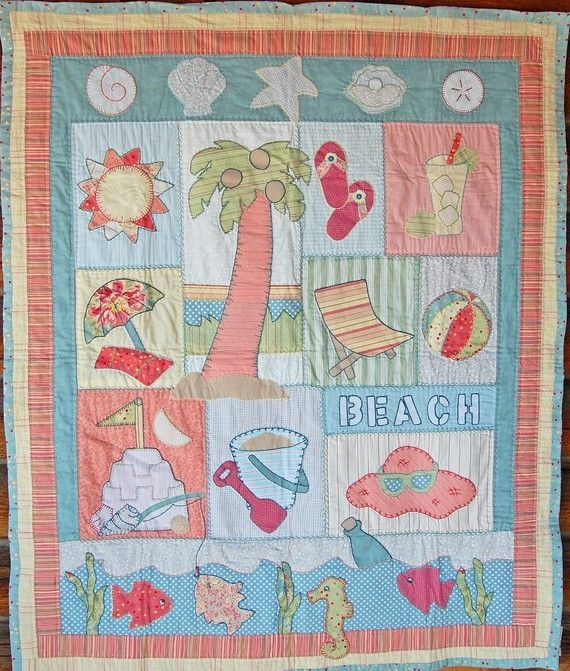 Elegant pin lettie sgroi on quilts beach quilt beach themed Cool Beach Themed Quilt Patterns