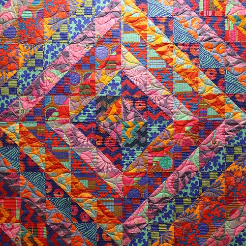 Elegant quilt inspiration free pattern day kaffe fassett quilting 10 Cool Kaffe Fassett Quilt Patterns