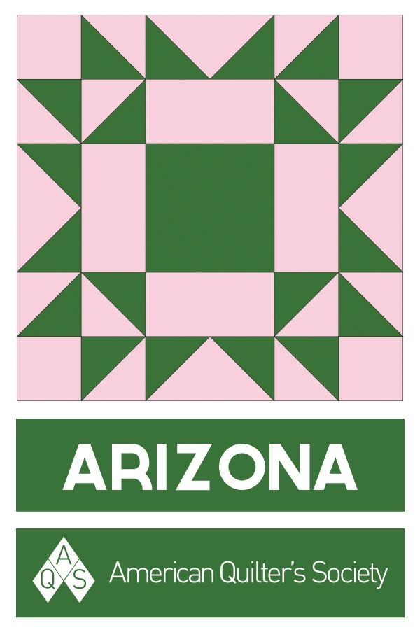 Elegant state block arizona aqs blog quilt corners antique 9 Beautiful Vintage Quilt Blocks State By State Gallery