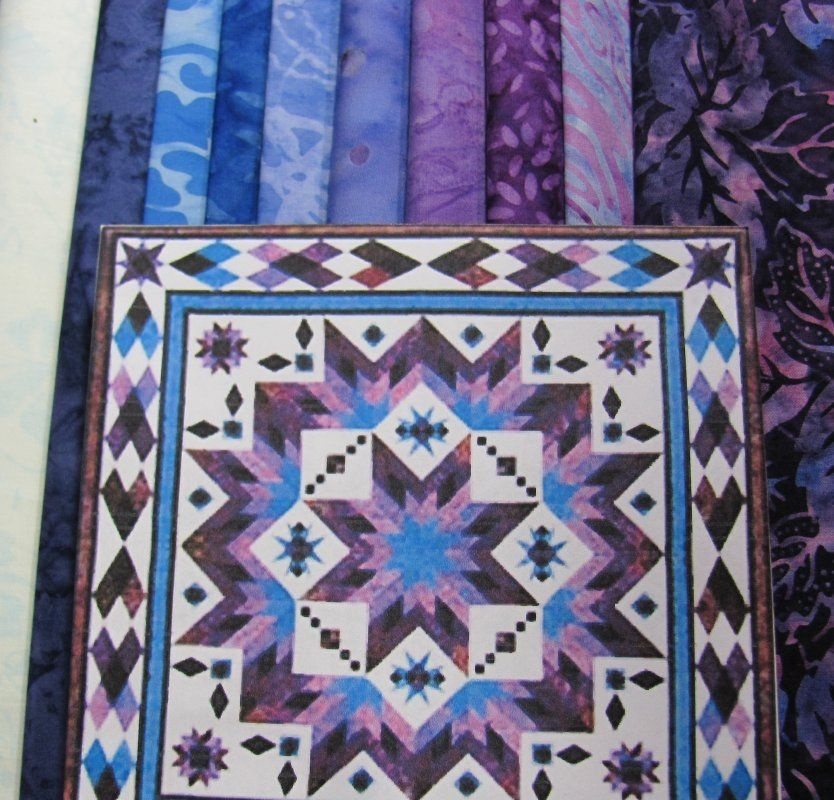 Elegant taos quilt kit quilt patterns quilts quilt kit 11   Quilting Ideas For Taos Block Of The Month Inspirations