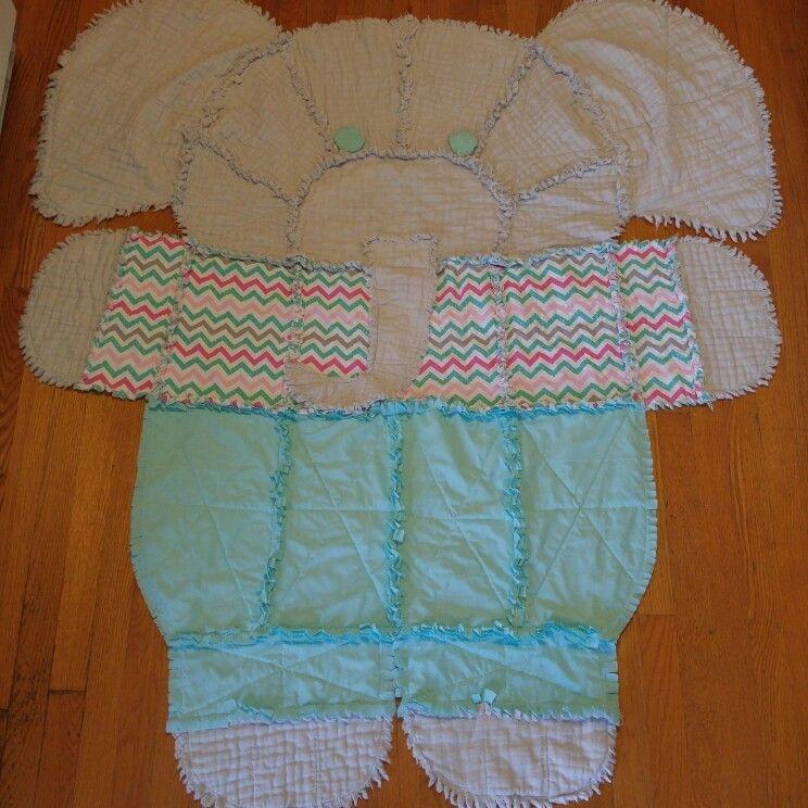 elephant rag quilt adapting a simplicity pattern rag 10 Unique Simplicity Quilt Patterns
