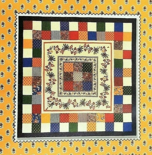 enchante quilt pattern 58 x 58 design sandy klop american jane patterns nip 10   American Jane Quilt Patterns