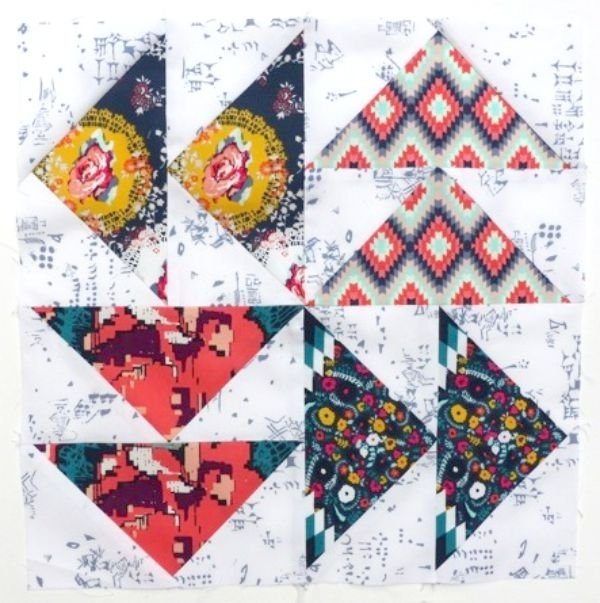 flying geese blocks Beautiful Flying Geese Quilt Block Pattern Inspirations