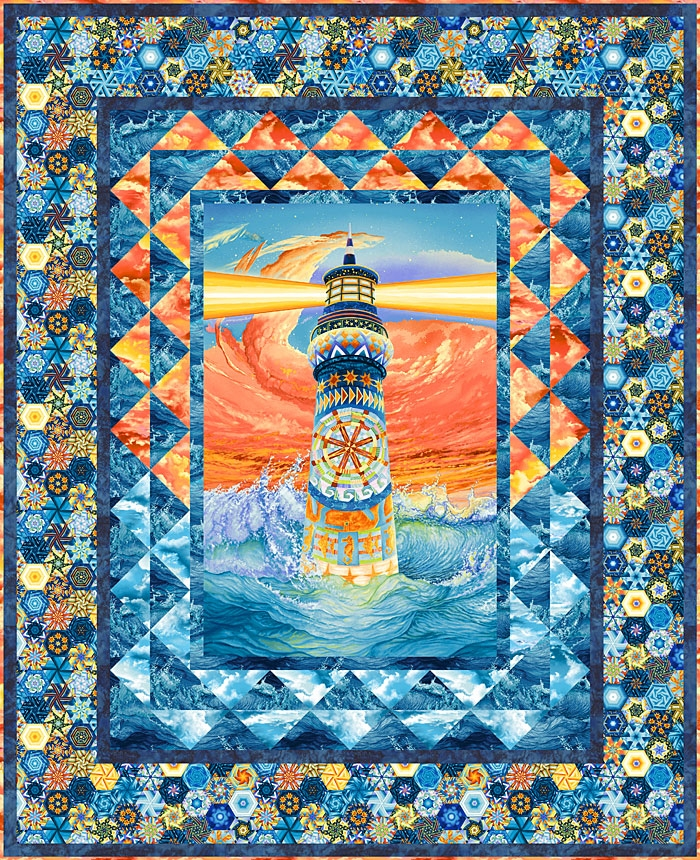 free equilter pattern lighthouse wonder equilter 9 Cool Lighthouse Quilt Patterns Gallery
