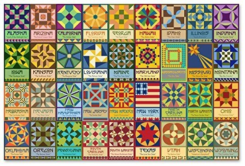 Interesting 50 state quilt block patterns 11 Modern Quilt Blocks Patterns Gallery