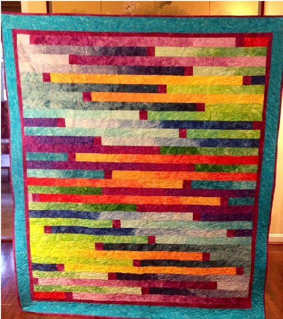 Interesting 97 jelly roll quilt patterns the funky stitch Batik Jelly Roll Quilt Patterns
