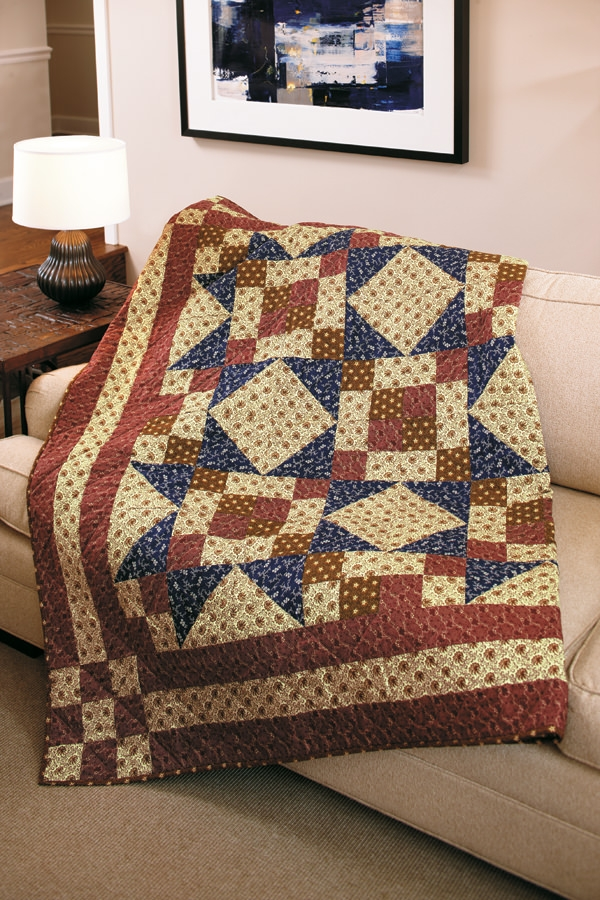 Interesting american independence quilt fons porter quilting daily 9 Stylish Fons & Porter Quilt Patterns