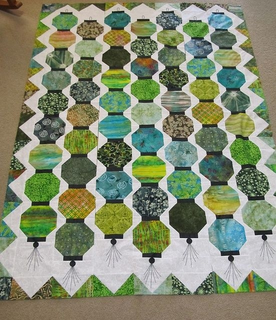 Interesting chinese lantern quilt top mit bildern quilt modernen 11 Stylish Chinese Lantern Quilt Pattern Inspirations