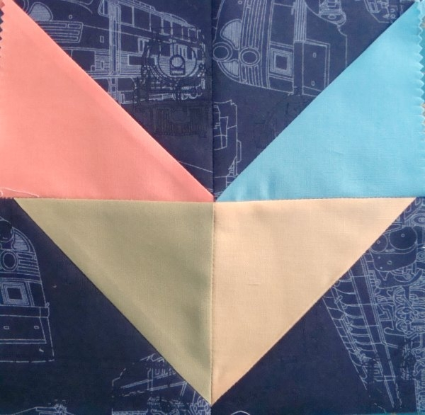 Interesting easy chevron quilt block tutorial patchwork posse Beautiful Chevron Quilt Pattern No Triangles Inspirations