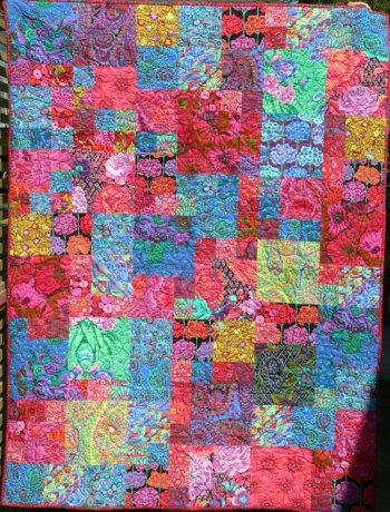 Interesting english garden quilt 10 Cool Kaffe Fassett Quilt Patterns