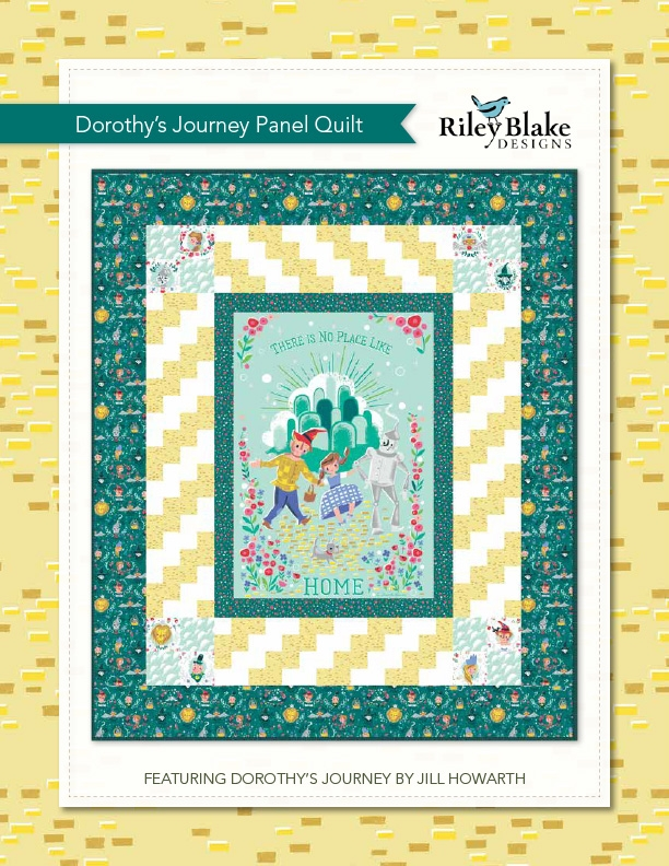 Interesting free quilts patterns riley blake designs 10 Unique Quilt Patterns For Panels Gallery