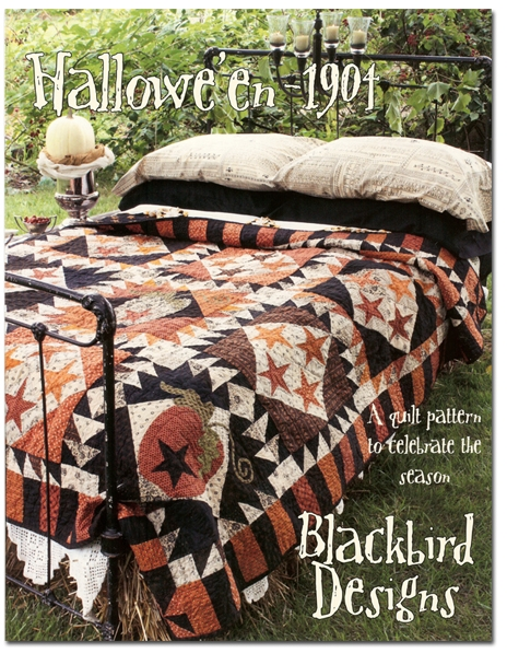Interesting haloween 1904 a quilt to celebrate the season 9 Elegant Blackbird Designs Quilt Patterns