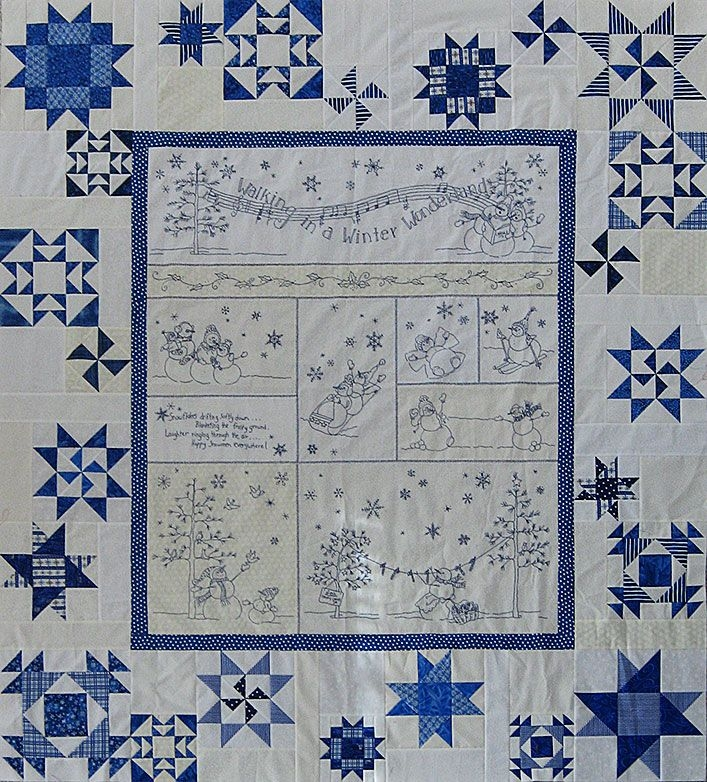 Permalink to 11 Cool Winter Wonderland Quilt Pattern