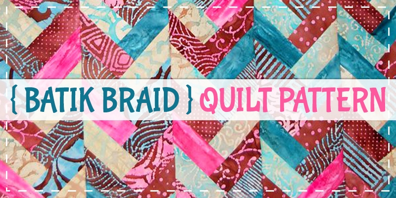 Interesting jelly roll batik braid quilt tutorial sewing for beginners Batik Jelly Roll Quilt Patterns