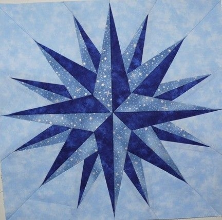 Interesting nautical quilt patterns my patterns nautical quilt star 9 Stylish Nautical Quilts Patterns Gallery