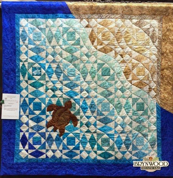 Interesting peace river quilt show weekend ocean quilt beach Cool Beach Themed Quilt Patterns