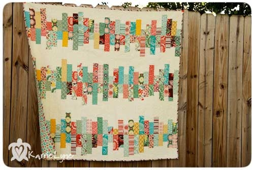 Interesting random reflections quilt free quilt tutorial love to sew Unique Random Patchwork Quilt Pattern Gallery