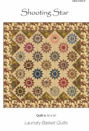 Interesting shooting star applique quilt pattern with stencil from laundry basket quilts 9 Modern Laundry Basket Quilt Patterns Inspirations