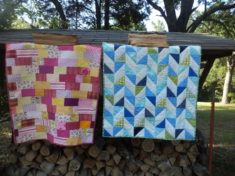 Interesting simple strips and scrappy herringbone contributor tutorial 11   Herringbone Quilt Pattern Gallery
