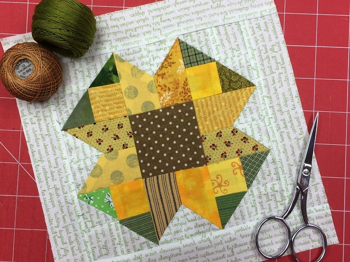 Interesting sunflower quilt block pattern free on bluprint 9   Sunflower Quilt Block Pattern