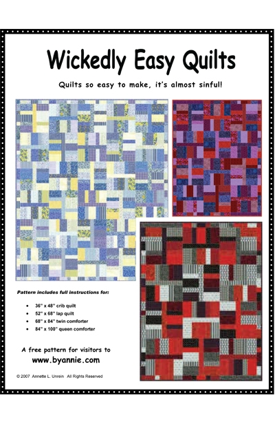 9   Wickedly Easy Quilt Pattern