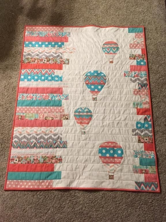 looking for quilting project inspiration check out hot air 11   Hot Air Balloon Quilt Pattern