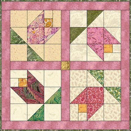 Modern 200 quilts tulips images quilts quilt patterns tulips 9   Tulip Quilt Block Pattern Inspirations
