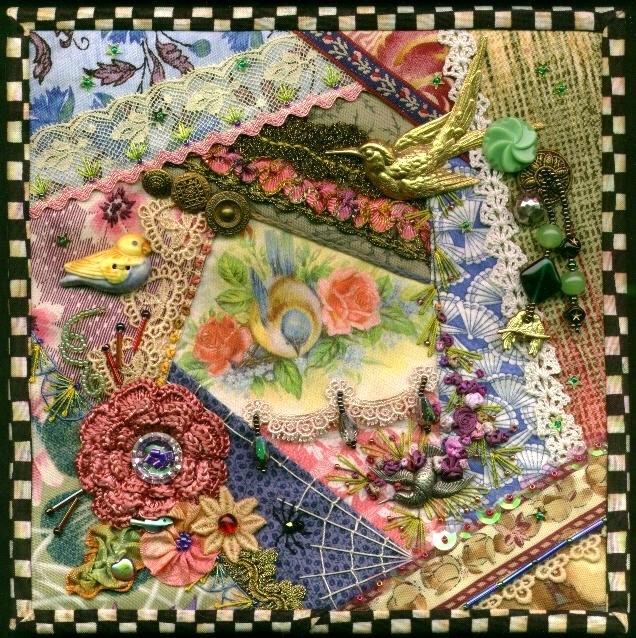 Modern crazy quilting 10   Crazy Patchwork Quilt Patterns Inspirations