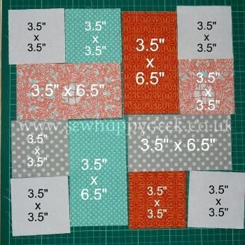 Modern easy big block quilt patterns free a good scrap quilt Easy Beginner Block Quilt Patterns Inspirations