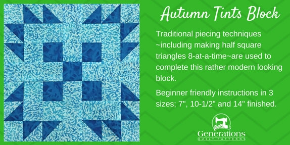 Modern free paper pieced quilt block patterns quilt therapy 10   Generations Quilt Patterns Gallery
