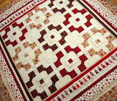 Modern free pattern monkey around quilts quilt patterns free 10 Elegant Bow Tie Quilt Pattern Layouts Gallery