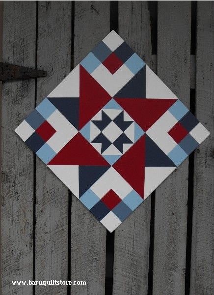 Modern friendship star pattern painted barn quilts barn quilt 10   Quilt Patterns For Barns Gallery