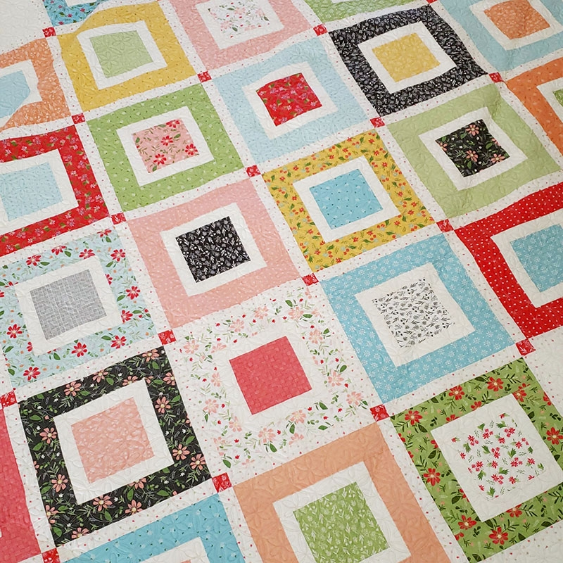 Modern jelly roll beach day quilt pattern quilting a quilting life 9 Elegant Charm Pack And Jelly Roll Quilt Patterns