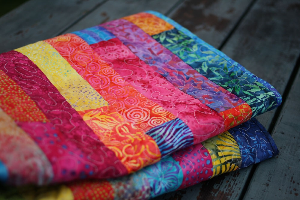 Modern jelly roll quilt Batik Jelly Roll Quilt Patterns