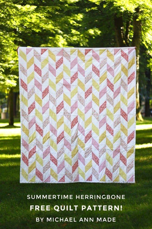 Permalink to 11   Herringbone Quilt Pattern Gallery