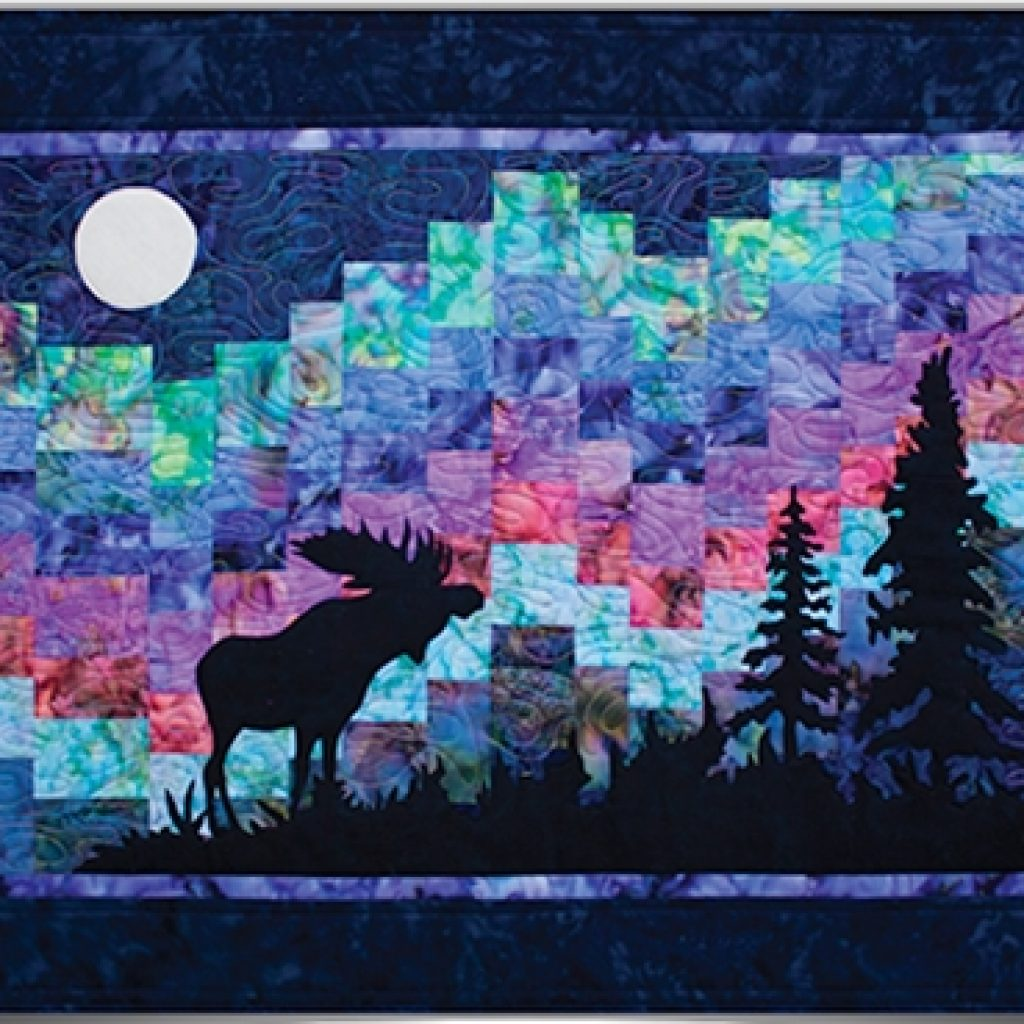 Modern quilt inspiration the great outdoors part 3 northern 10 New Northern Lights Quilt Pattern
