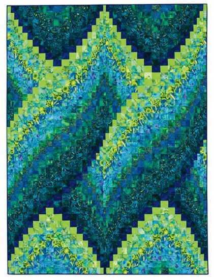 Modern quilt inspiration twist and turn bargellos bargello 9 Beautiful Twisted Bargello Quilt Pattern Gallery