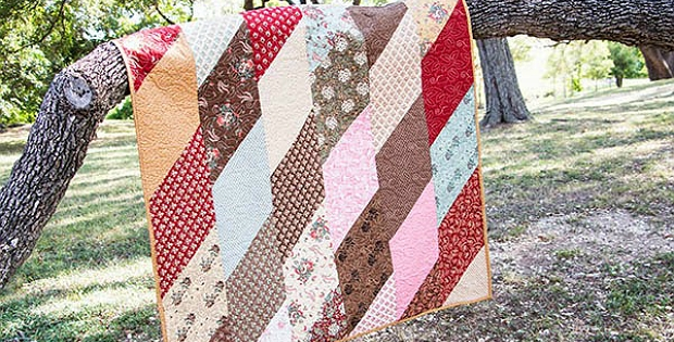 Modern this fat eighth quilt is super fast and easy quilting digest 9 Modern Quilt Patterns Using Fat Eighths