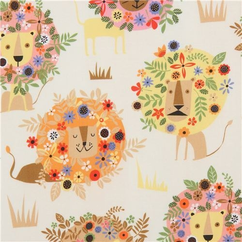 New beige lion fabric quilting treasures 11 Modern Stylish Quilting Treasures Fabric